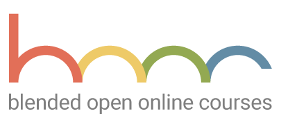 Blended Open Online Courses